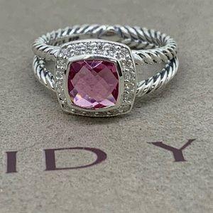 Authentic David Yurman Pink Tourmaline Ring